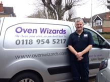 Oven cleaning company Reading logo