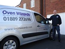 Oven cleaning company Staffordshire logo