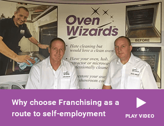 Why choose Franchising as a route to self-employment